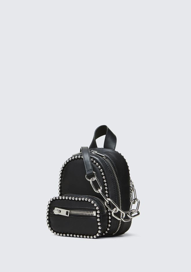 ALEXANDER WANG BALLCHAIN ATTICA MINI BACKPACK Shoulder bag Adult 12_n_d