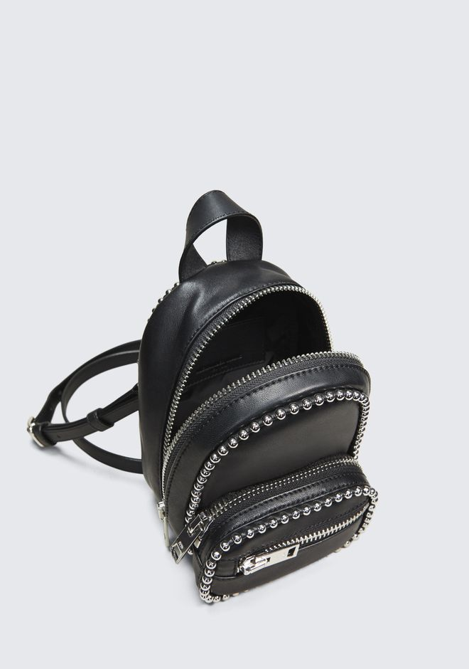 ALEXANDER WANG BALLCHAIN ATTICA MINI BACKPACK Shoulder bag Adult 12_n_e