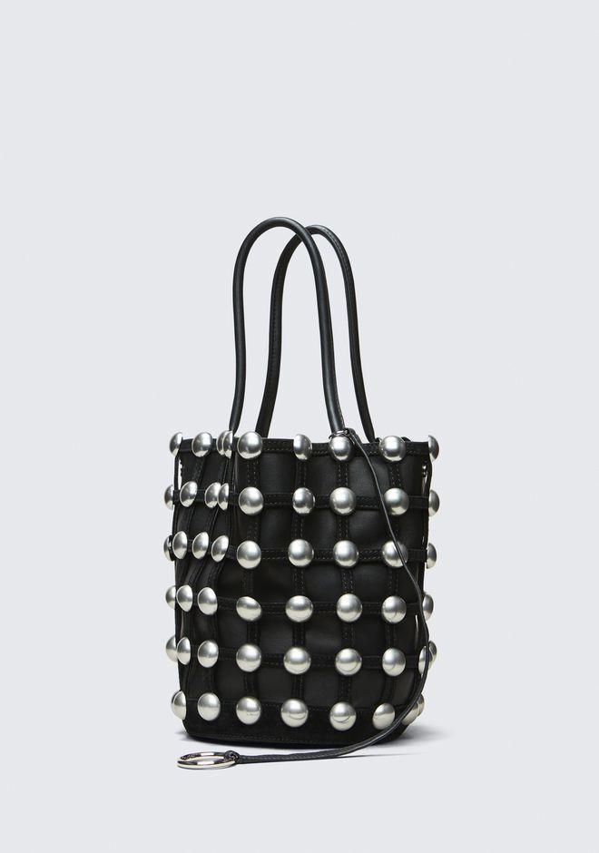 ALEXANDER WANG ROXY CAGE LARGE BUCKET  CLUTCH Adult 12_n_a