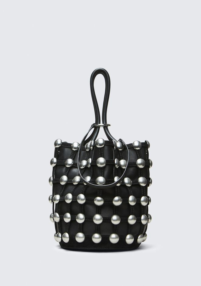 ALEXANDER WANG ROXY CAGE LARGE BUCKET  CLUTCH Adult 12_n_f