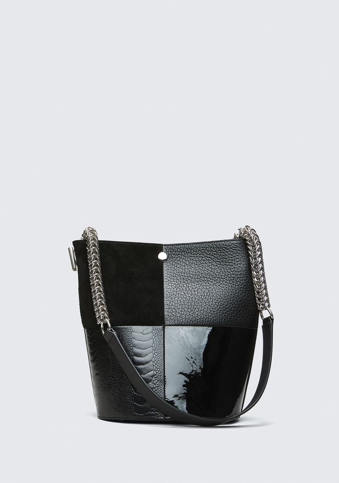 ALEXANDER WANG Shoulder bags Women BLACK GENESIS BUCKET