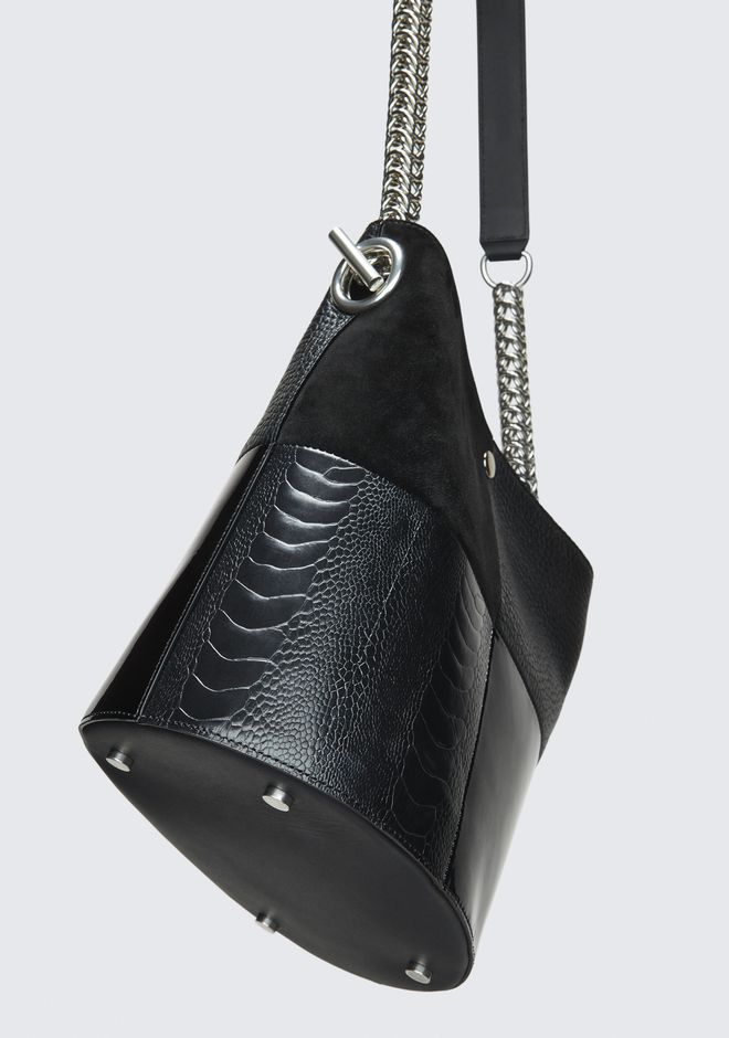 ALEXANDER WANG BLACK GENESIS BUCKET Shoulder bag Adult 12_n_e