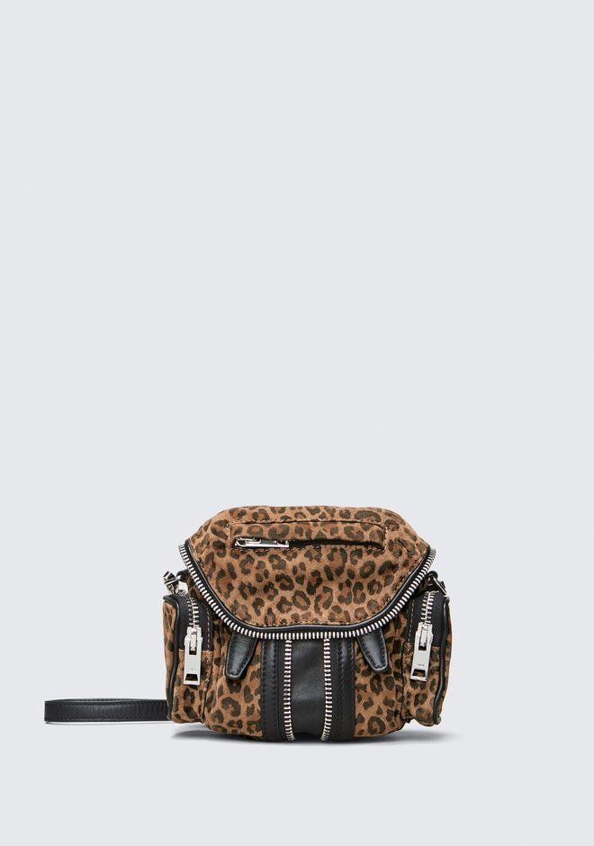 ALEXANDER WANG BACKPACKS Women LEOPARD MICRO MARTI