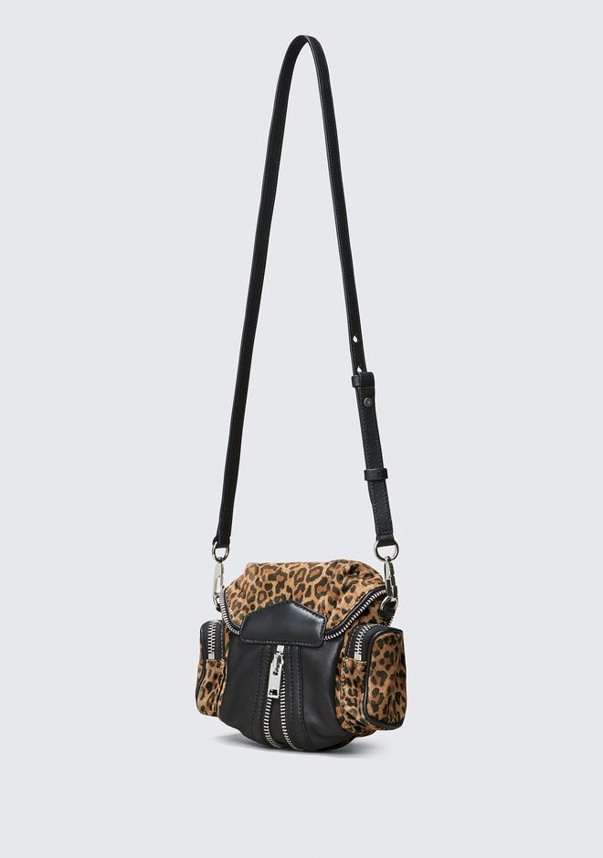 ALEXANDER WANG LEOPARD MICRO MARTI  BACKPACK Adult 12_n_a