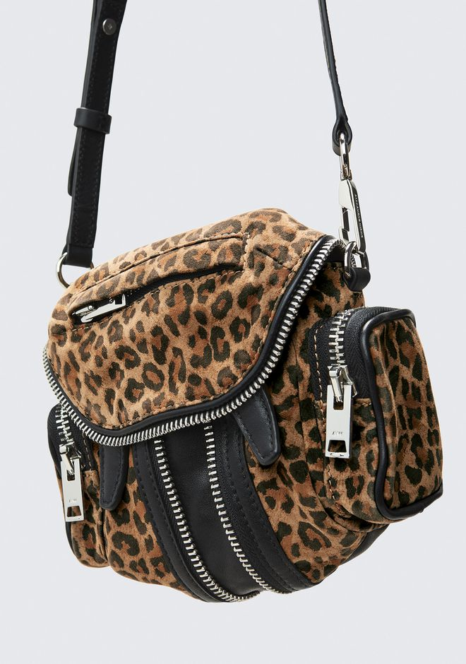 ALEXANDER WANG LEOPARD MICRO MARTI  BACKPACK Adult 12_n_e