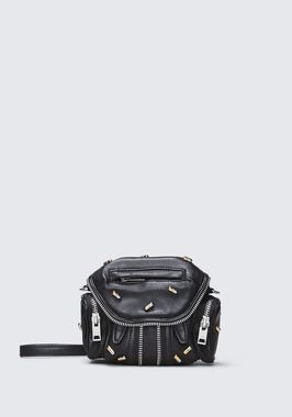 PILL STUDDED MICRO MARTI CROSSBODY