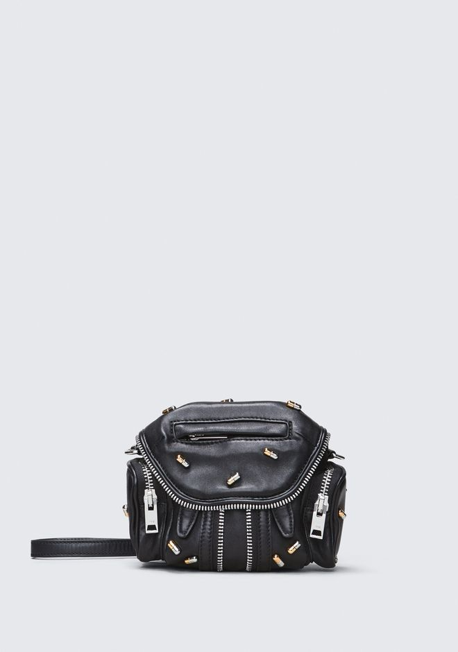 ALEXANDER WANG BACKPACKS PILL STUDDED MICRO MARTI CROSSBODY