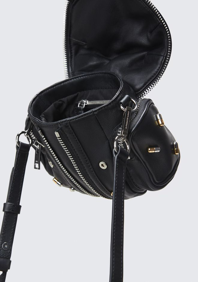 ALEXANDER WANG PILL STUDDED MICRO MARTI CROSSBODY BACKPACK Adult 12_n_d