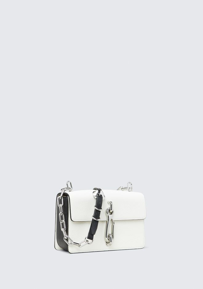 ALEXANDER WANG WHITE HOOK MEDIUM CROSSBODY Shoulder bag Adult 12_n_d
