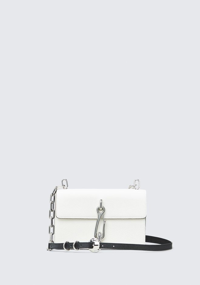 ALEXANDER WANG WHITE HOOK MEDIUM CROSSBODY 单肩包 Adult 12_n_f