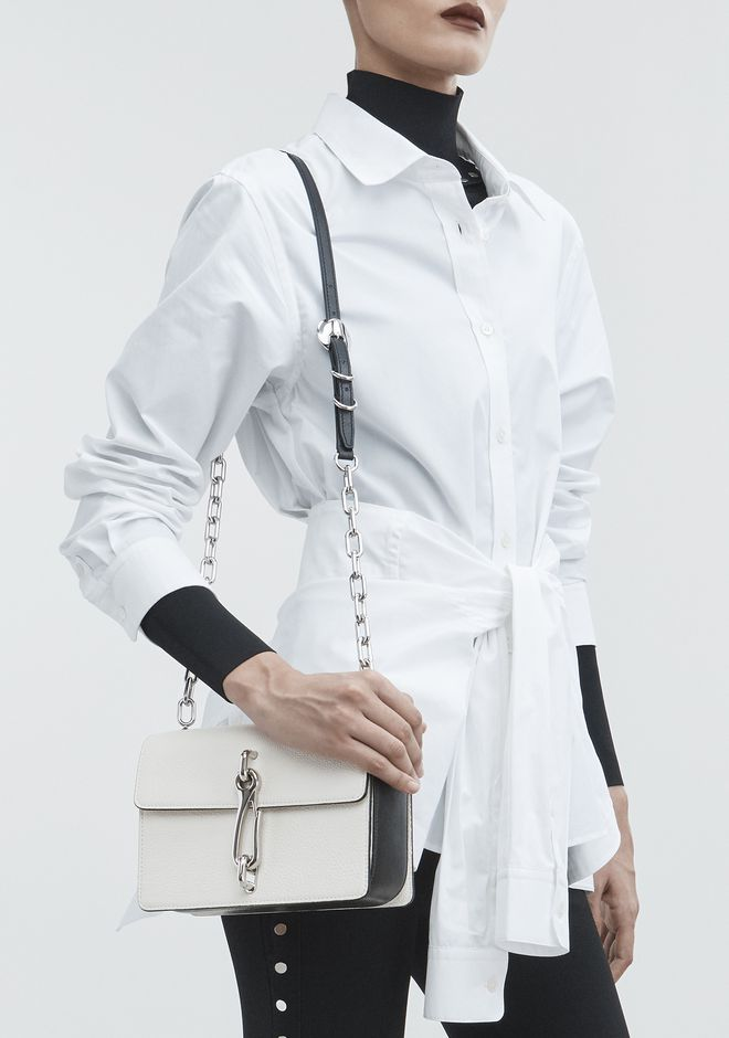 ALEXANDER WANG WHITE HOOK MEDIUM CROSSBODY 单肩包 Adult 12_n_r