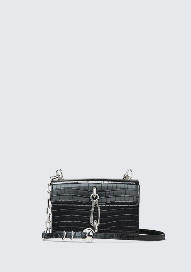 ALEXANDER WANG CLUTCHES EMBOSSED HOOK MEDIUM CROSSBODY
