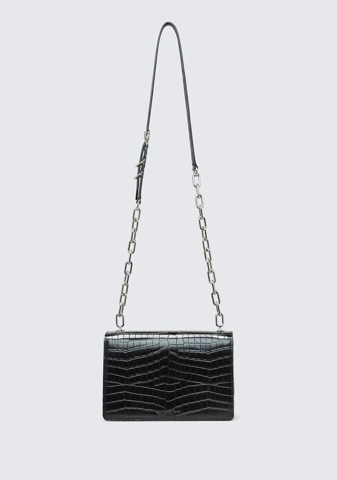 ALEXANDER WANG EMBOSSED HOOK MEDIUM CROSSBODY CLUTCH Adult 12_n_a