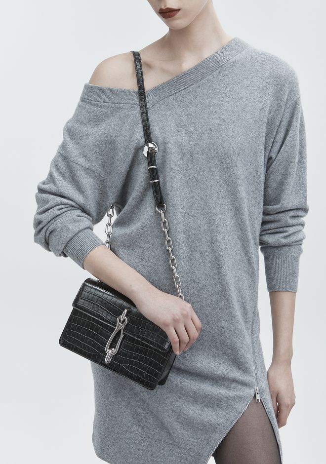 ALEXANDER WANG EMBOSSED HOOK MEDIUM CROSSBODY ショルダーバッグ Adult 12_n_r