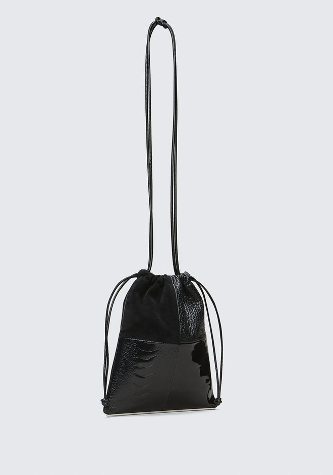 ALEXANDER WANG RYAN MINI DUSTBAG CLUTCH Adult 12_n_e