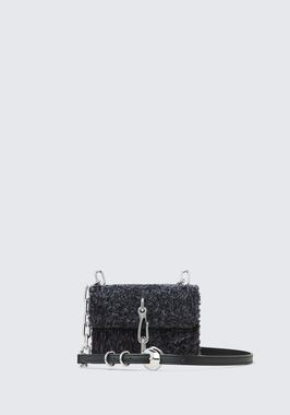 SHEARLING HOOK SMALL CROSSBODY