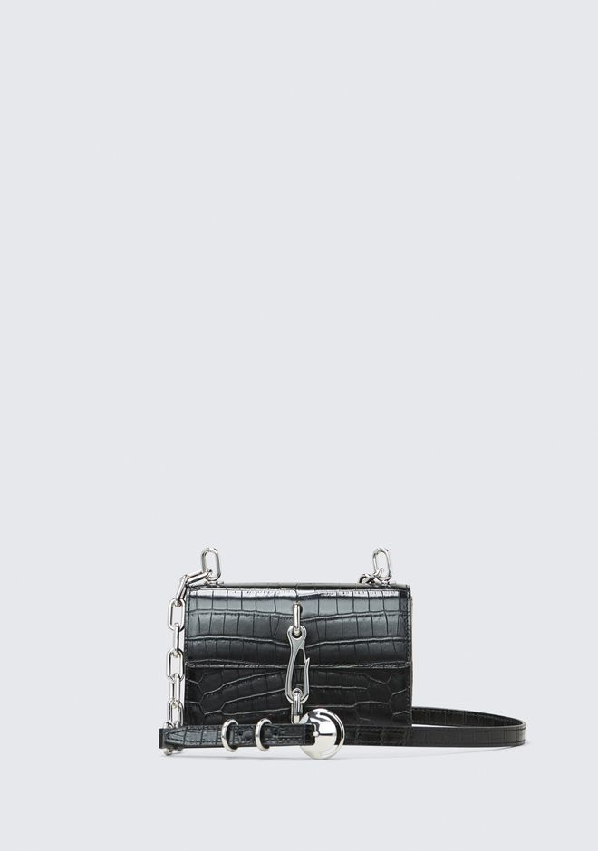 ALEXANDER WANG mini-bags EMBOSSED HOOK SMALL CROSSBODY