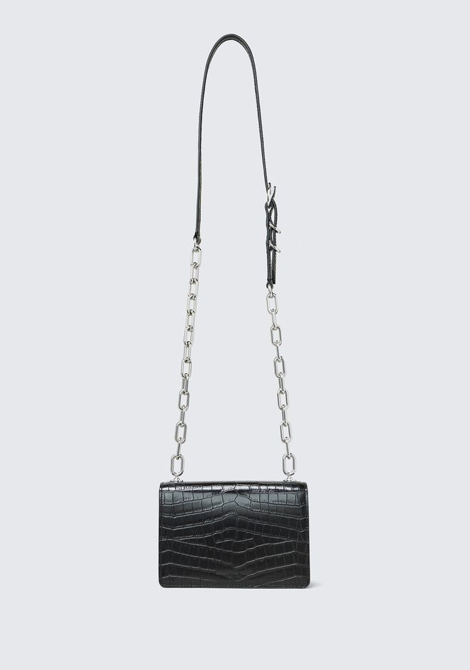 ALEXANDER WANG EMBOSSED HOOK SMALL CROSSBODY Shoulder bag Adult 12_n_a