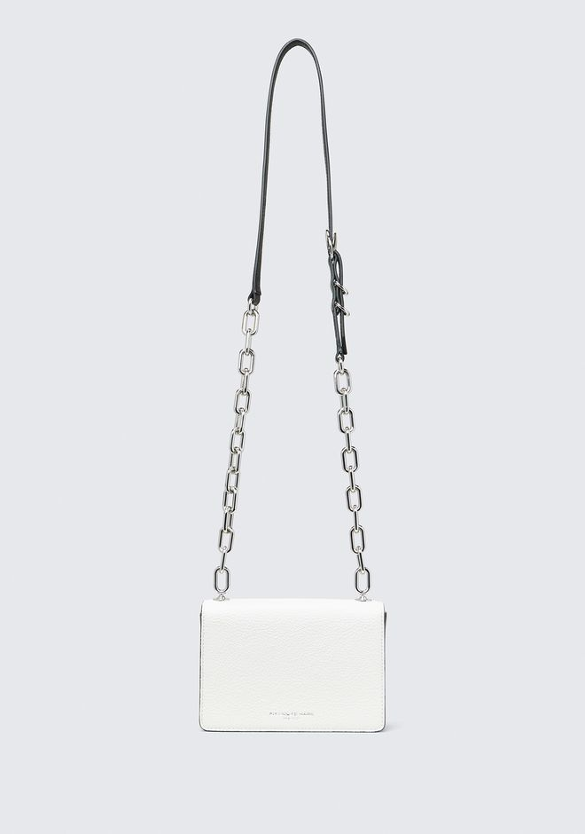 ALEXANDER WANG HOOK SMALL CROSSBODY IN WHITE Shoulder bag Adult 12_n_a