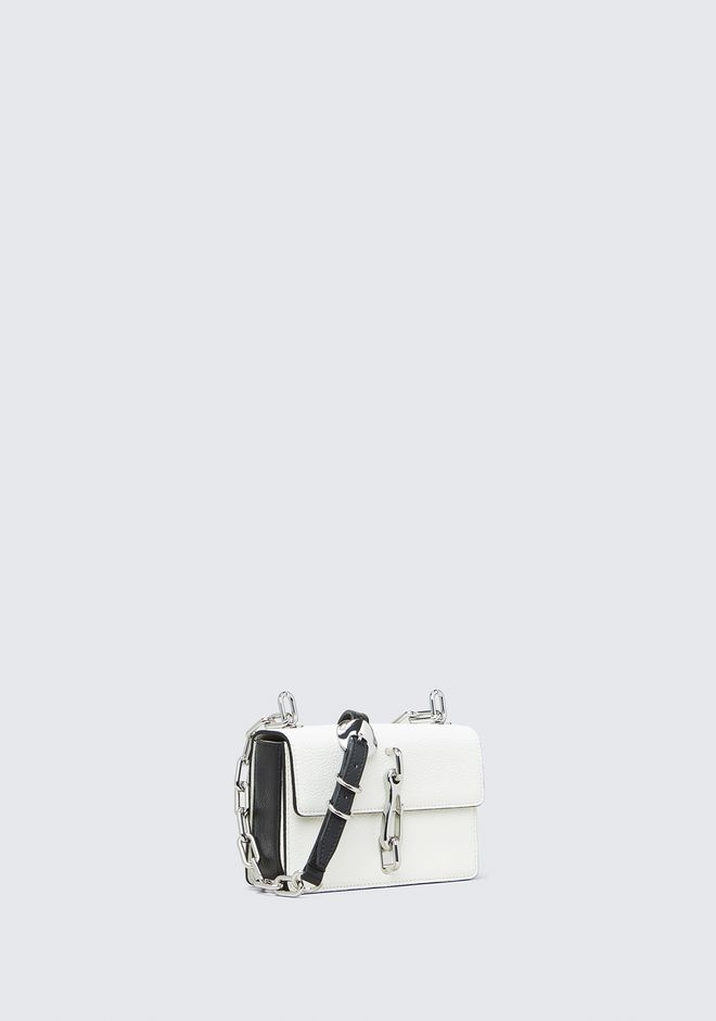 ALEXANDER WANG HOOK SMALL CROSSBODY IN WHITE Shoulder bag Adult 12_n_d
