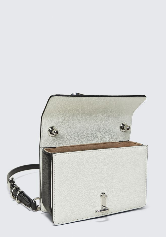 ALEXANDER WANG HOOK SMALL CROSSBODY IN WHITE Shoulder bag Adult 12_n_e