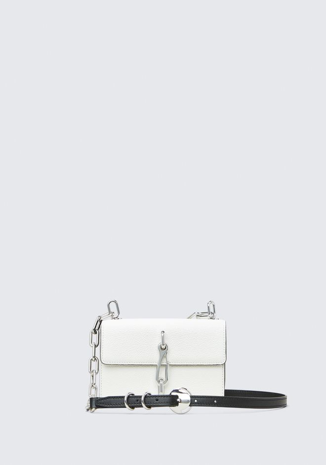 ALEXANDER WANG HOOK SMALL CROSSBODY IN WHITE Shoulder bag Adult 12_n_f