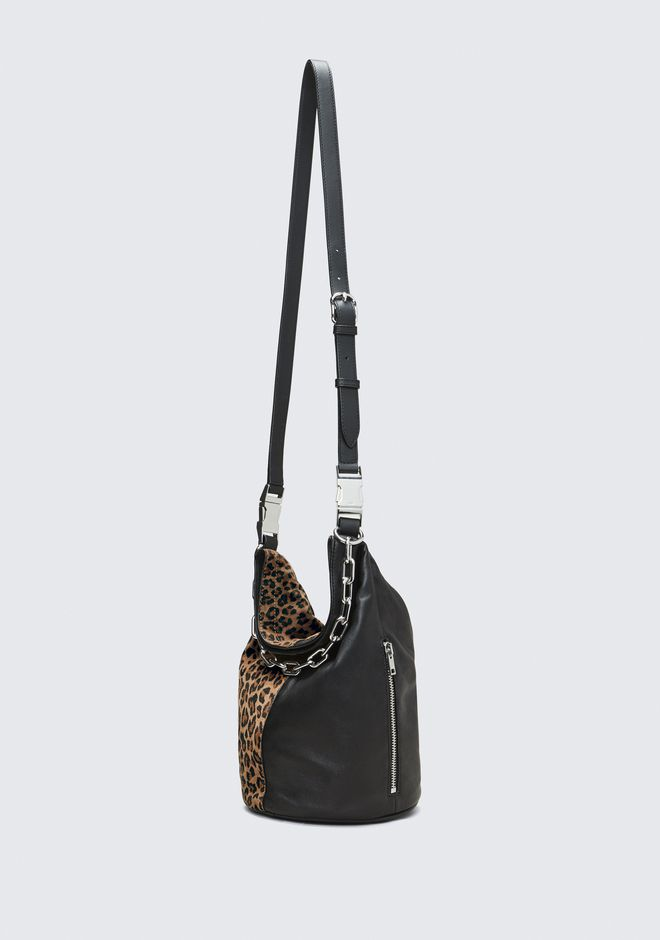 ALEXANDER WANG LEOPARD ATTICA DRY SACK Shoulder bag Adult 12_n_d