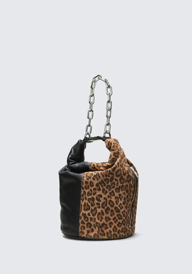 ALEXANDER WANG LEOPARD ATTICA DRY SACK Shoulder bag Adult 12_n_e