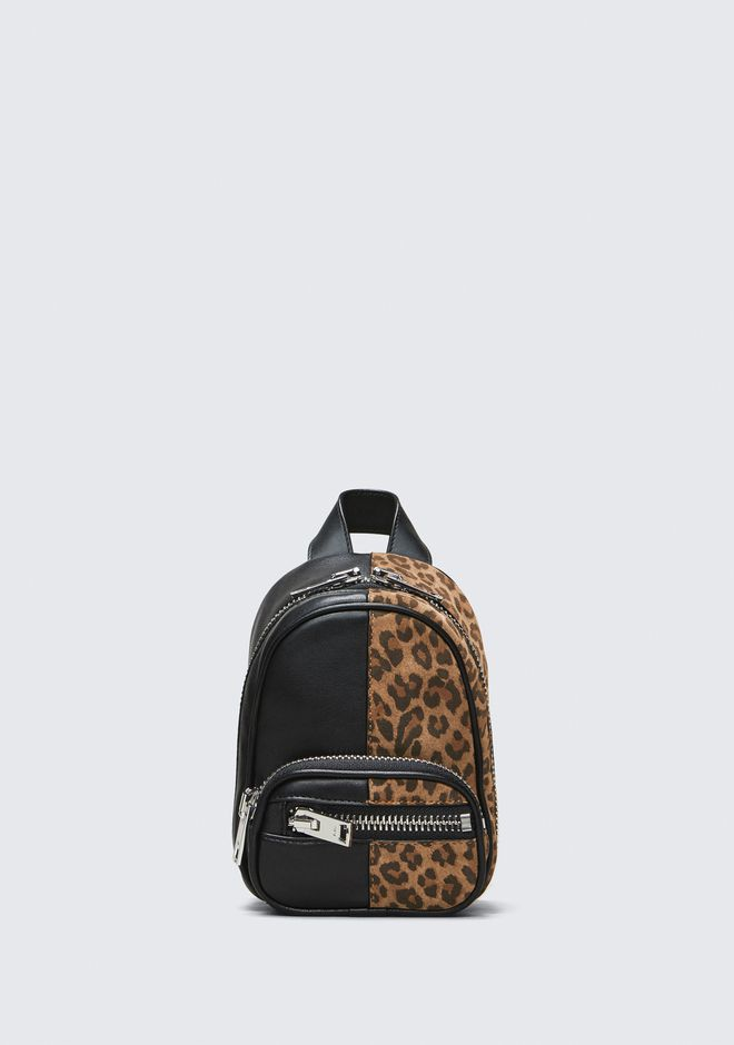 ALEXANDER WANG BACKPACKS ATTICA MINI BACKPACK CROSSBODY