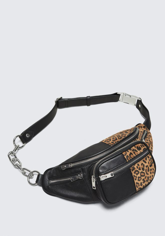 ALEXANDER WANG ATTICA LEOPARD FANNY PACK Shoulder bag Adult 12_n_e
