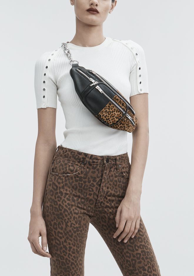 ALEXANDER WANG ATTICA LEOPARD FANNY PACK Shoulder bag Adult 12_n_r