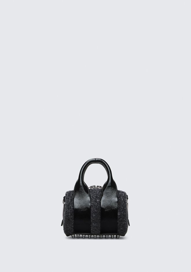 ALEXANDER WANG Shoulder bags Women SHEARLING BABY ROCKIE