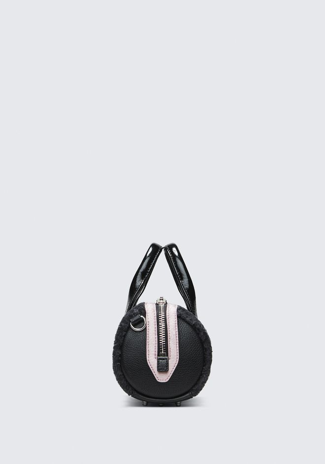 ALEXANDER WANG SHEARLING BABY ROCKIE MESSENGER BAG Adult 12_n_a