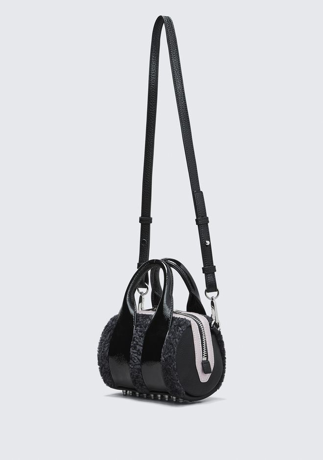 ALEXANDER WANG SHEARLING BABY ROCKIE Shoulder bag Adult 12_n_e