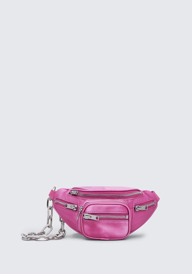 ALEXANDER WANG Shoulder bags SATIN ATTICA MINI FANNY PACK