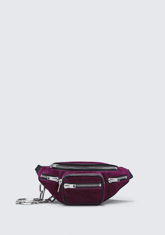 ALEXANDER WANG new-arrivals VELVET ATTICA MINI FANNY PACK