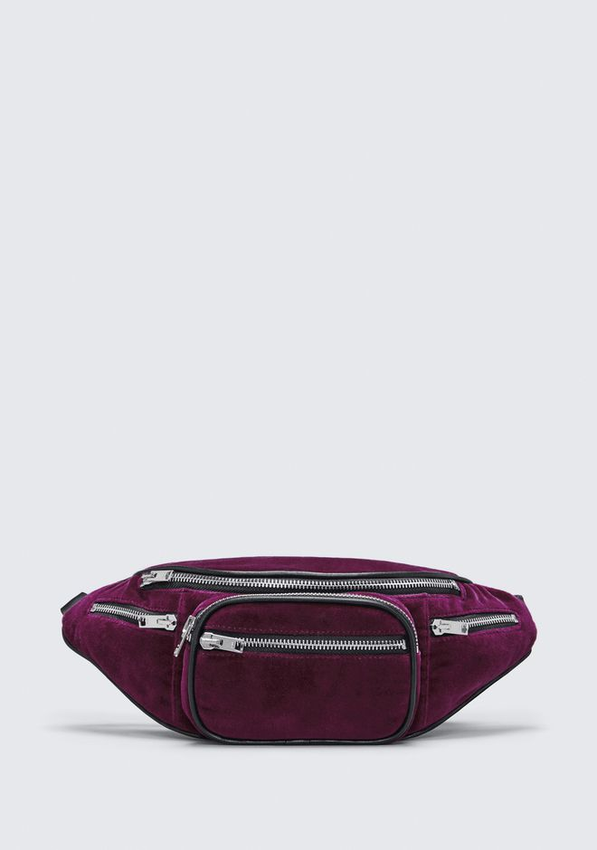 ALEXANDER WANG VELVET ATTICA FANNY PACK Shoulder bag Adult 12_n_f