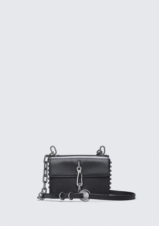 ALEXANDER WANG CLUTCHES MICROSTUD HOOK SMALL CROSSBODY