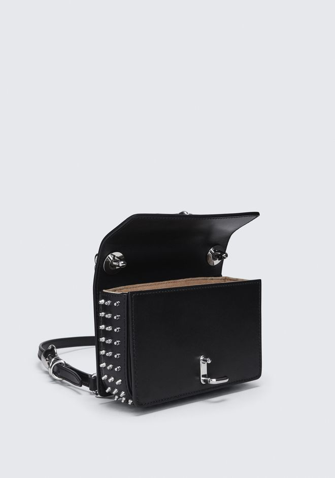 ALEXANDER WANG MICROSTUD HOOK SMALL CROSSBODY  CLUTCH Adult 12_n_e