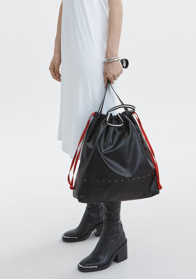 ALEXANDER WANG RANSACK DRAWSTRING BAG BORSA IN TELA Adult 12_n_r
