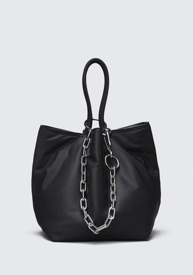 ALEXANDER WANG TOP HANDLE BAGS ROXY SMALL NYLON BUCKET