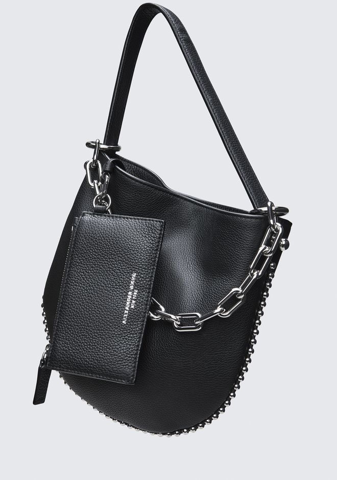 ALEXANDER WANG ROXY MINI HOBO  MESSENGER BAG Adult 12_n_d