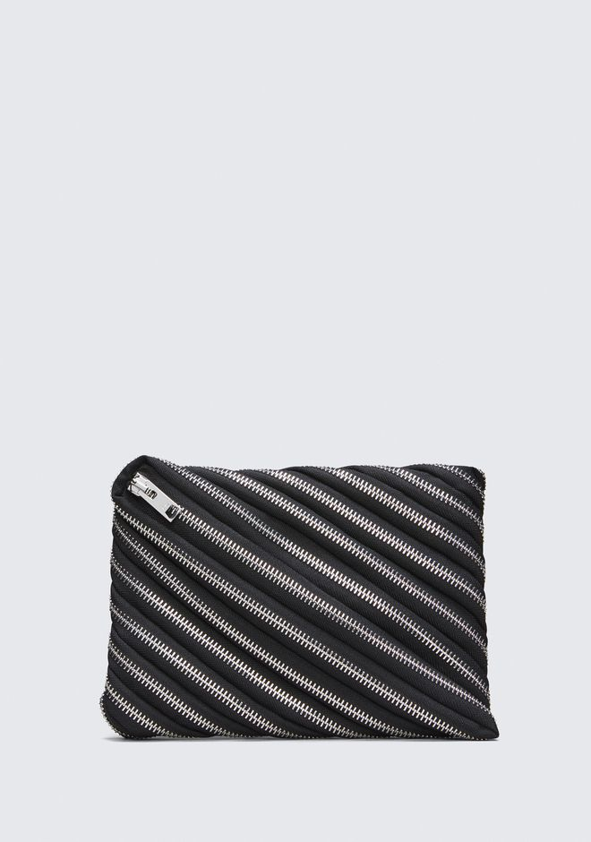 ALEXANDER WANG accessories UNZIP CLUTCH
