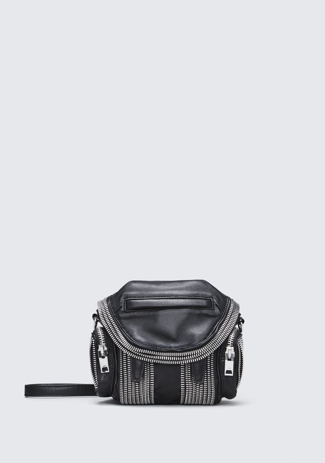 ALEXANDER WANG BACKPACKS MICRO MARTI ZIPPER CROSSBODY
