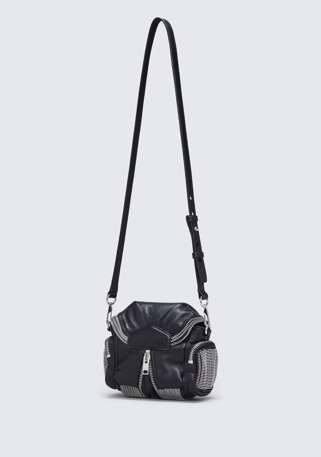 ALEXANDER WANG MICRO MARTI ZIPPER CROSSBODY BACKPACK Adult 12_n_a