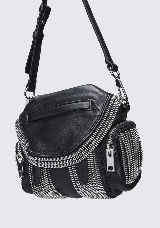 ALEXANDER WANG MICRO MARTI ZIPPER CROSSBODY BACKPACK Adult 12_n_e