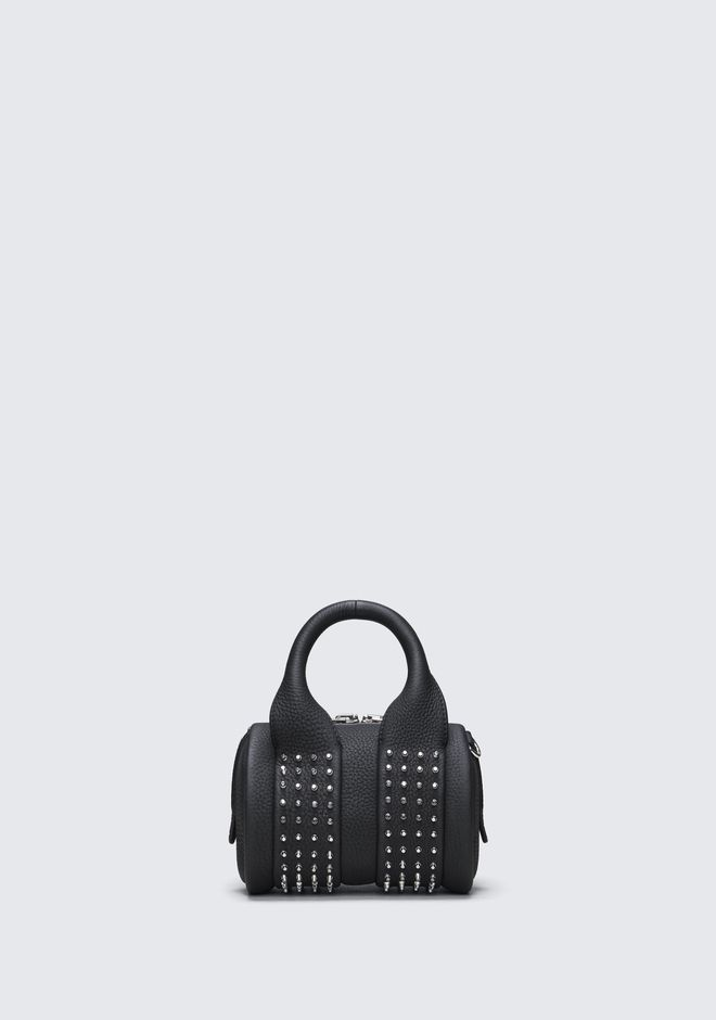ALEXANDER WANG Shoulder bags Women BABY ROCKIE WITH MICROSTUDS
