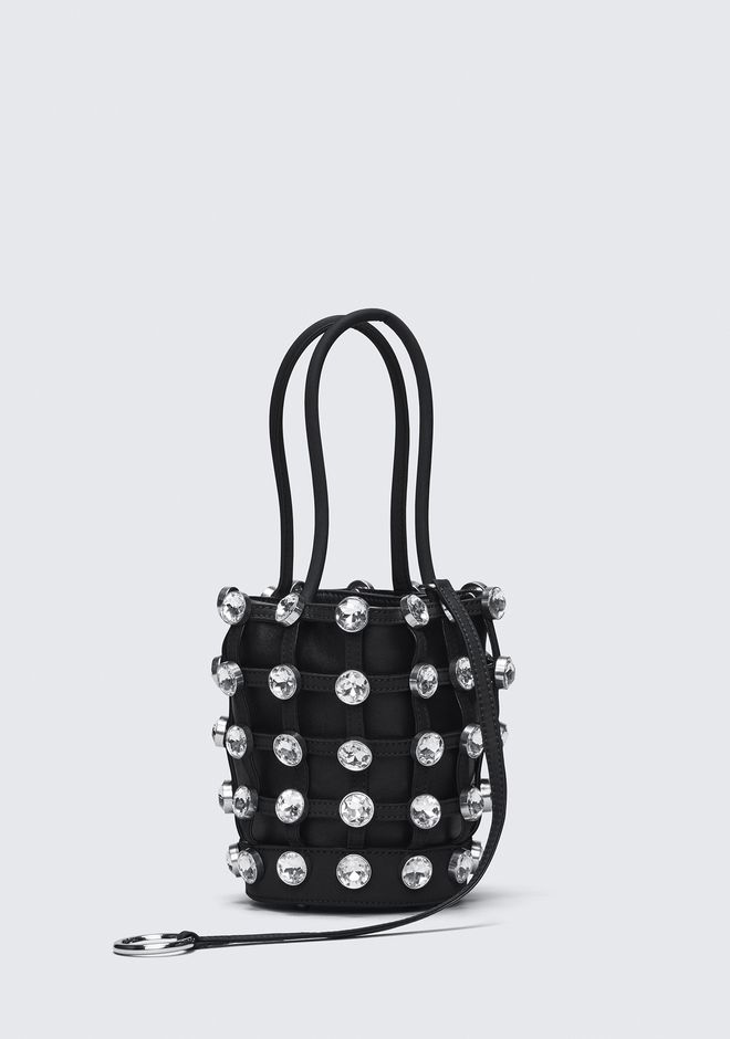 ALEXANDER WANG CAGED ROXY MINI BUCKET CLUTCH Adult 12_n_d