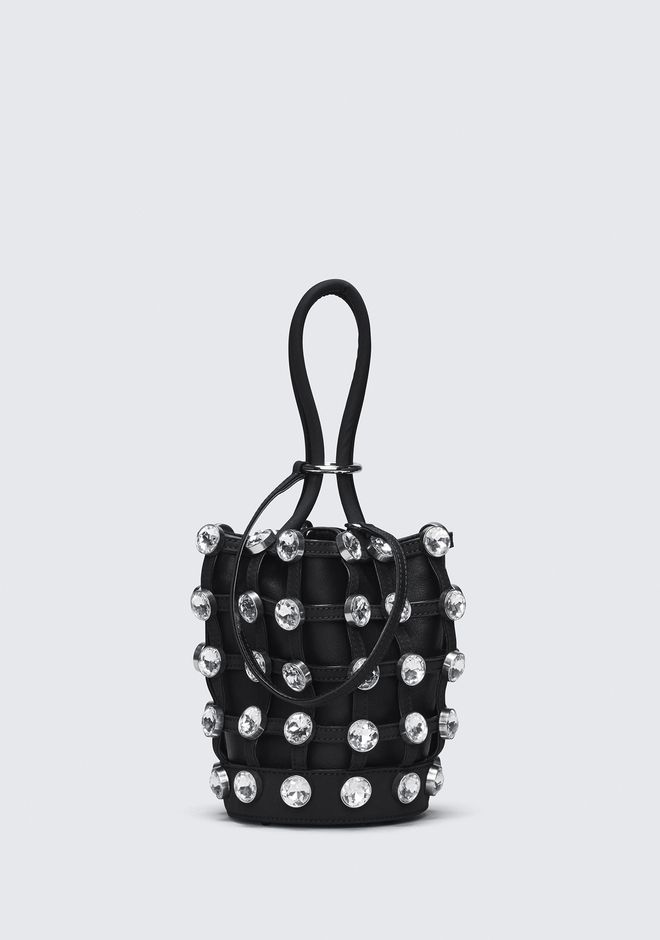 ALEXANDER WANG CAGED ROXY MINI BUCKET CLUTCH Adult 12_n_f