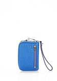 ALEXANDER WANG LARGE FUMO WALLET IN ROYAL WITH RHODIUM SMALL LEATHER GOOD Adult 8_n_e